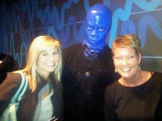 Blue man pic
