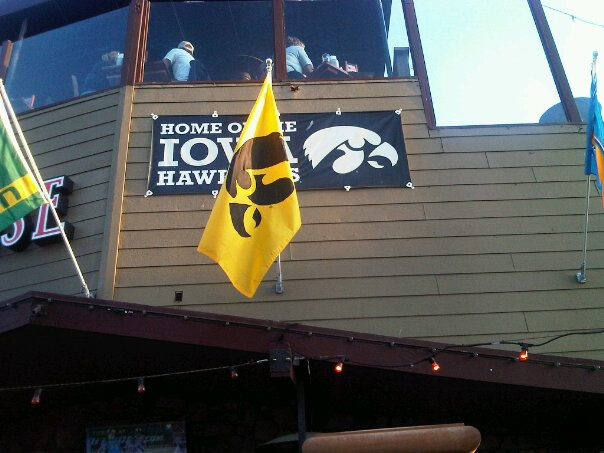 San Diego Hawkeye bar